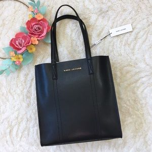 Host Pick 🎉 Marc Jacobs leather black tote NWT